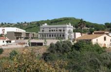 Vista des de la plaáa de l'Ajuntament
